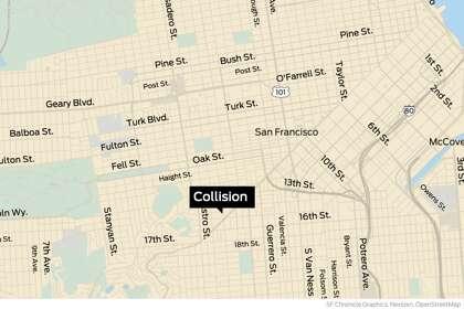 San Francisco police officer injured in car crash