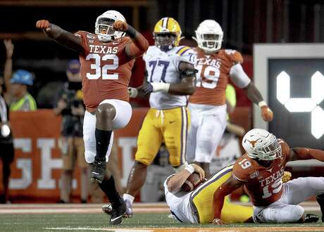 Texas' Malcolm Roach sacked LSU quarterback Joe Burrows last week, but he was part of a unit that allowed 45 points, 471 yards passing and 573 yards overall in the loss.