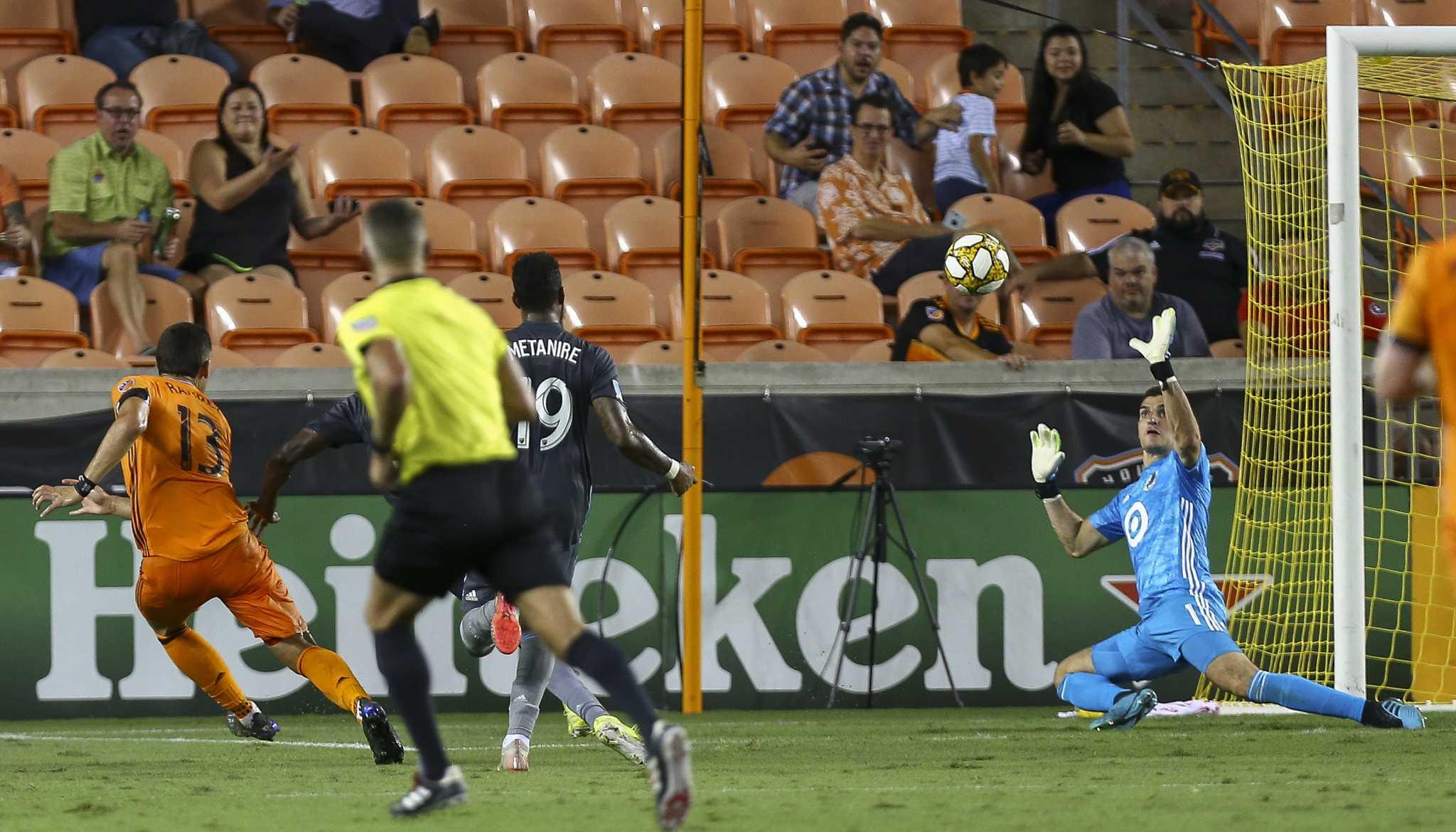 Dynamo record first win under interim coach Davy Arnaud