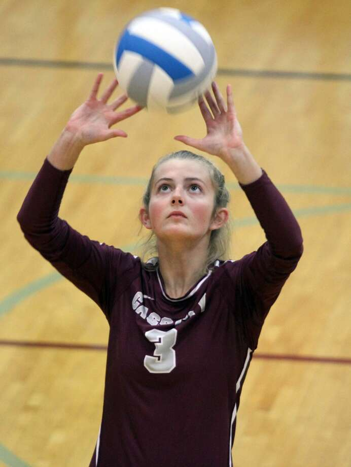 Cass City volleyball triumphed over Laker in three sets on Sept. 10.