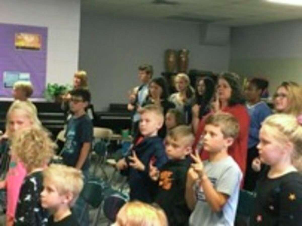 Midland Christian School dedicated a new chapel in which students, staff, parents, volunteers and community members will worship Christ.(Provided photo)