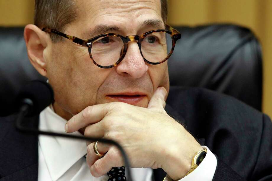 House Judiciary Committee Chairman Jerrold Nadler, D-N.Y., speaks during a recess in a markup hearing on a series of bills, including some to reduce gun violence, Tuesday, Sept. 10, 2019, in Washington. Photo: Patrick Semansky, AP / Copyright 2019 The Associated Press. All rights reserved.