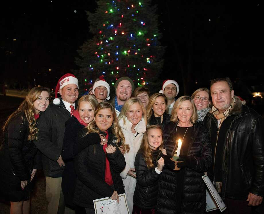 Christmas Eve caroling on God's Acre in New Canaan Photo: Bryan Haeffele / BryanHaeffele