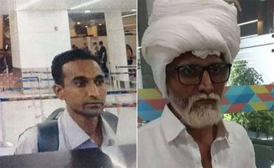 A 32-year-old Indian man disguised himself as an 81-year-old in a wheelchair in a brazen attempt to fly to the US with a fake passport, the Indian police say. Photo: CSIF