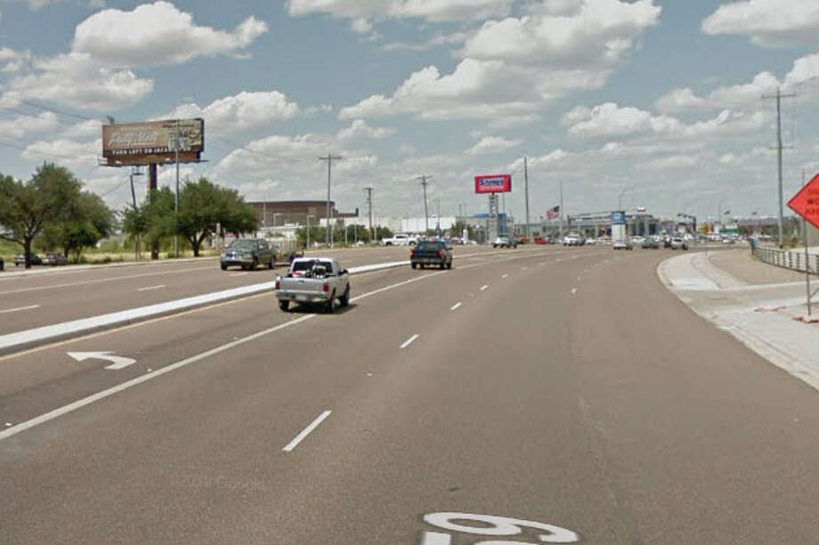 An 18-wheeler was traveling south on Bob Bullock Loop when it veered into the northbound lanes and crashed head on with vehicles traveling north. Photo: Google Maps/Street View