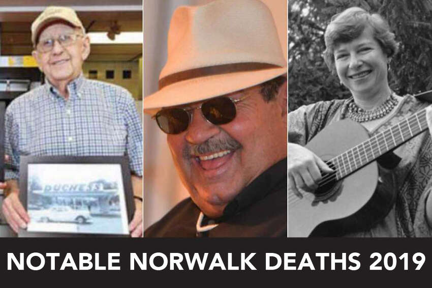Continue ahead for a look at some of the people we lost in Norwalk in 2019.