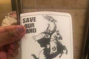Flyers promoting the Ku Klux Klan were discovered on the East Central High School campus.