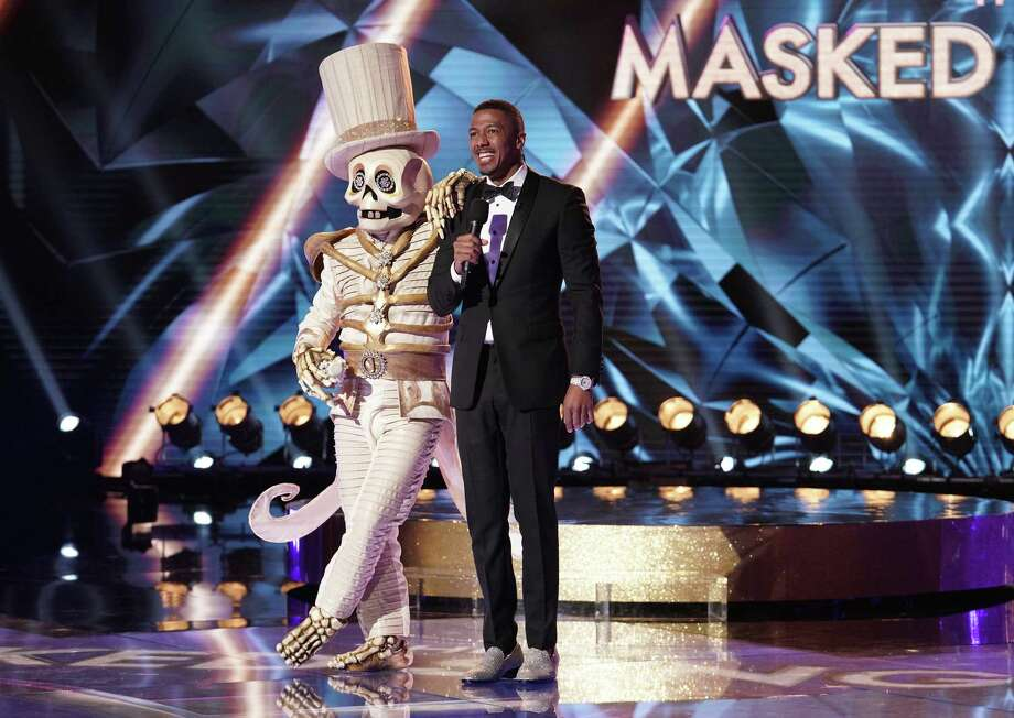 """Networks' live entertainment programs like """"The Masked Singer"""" draw huge ratings compared with cable and streaming offerings. Photo: Michael Becker/Fox / Fox"""