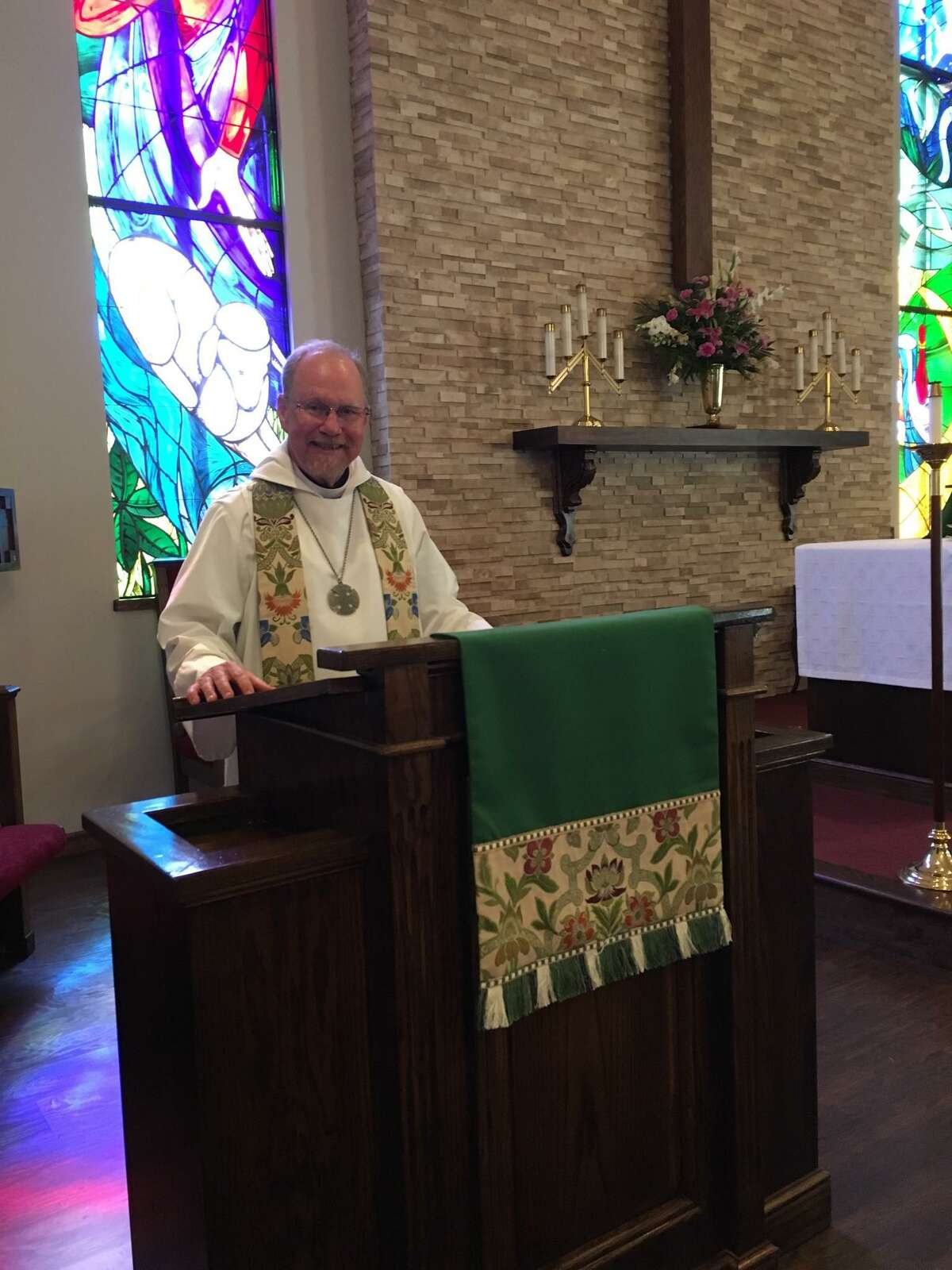 The Rev. Mark Wilkinson became rector at St. Paul's Episcopal Church in Katy this summer.