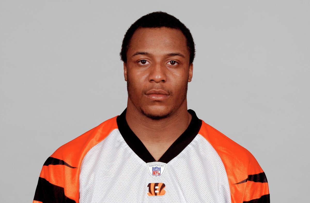 Terrell Roberts of the Cincinnati Bengals poses for his 2005 NFL headshot at photo day in Cincinnati.