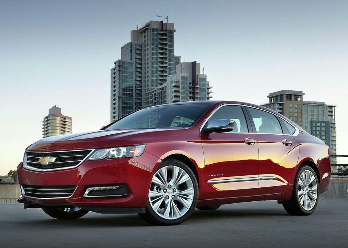Chevrolet Impala Chevy's most popular car model will cease manufacturing in January. Sales have dropped in recent years.