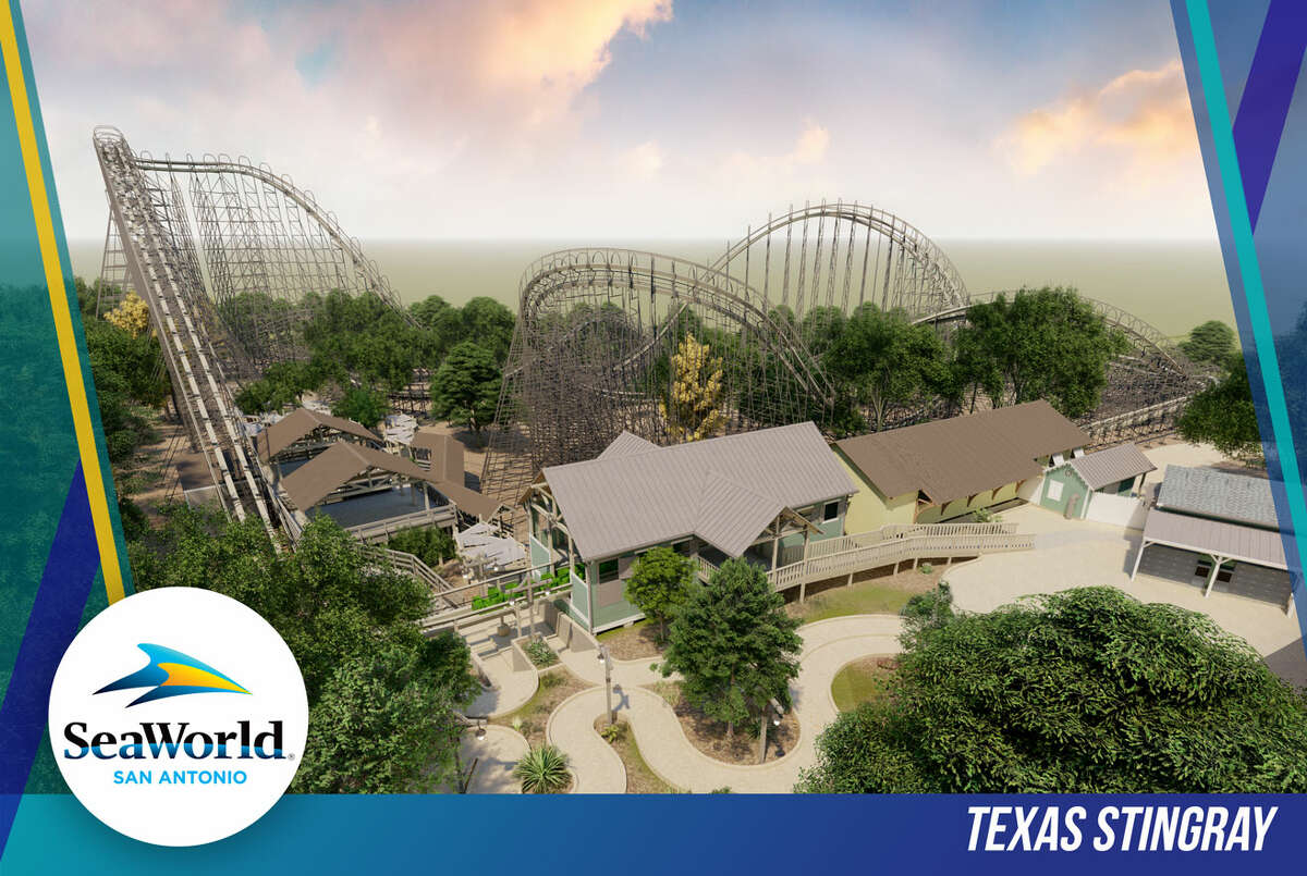 A rendering of the new rollercoaster,