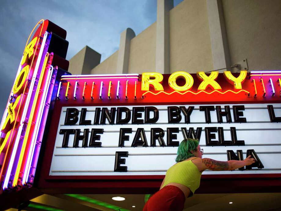 The sign at the Roxy in Missoula, Mont. Photo: Photo For The Washington Post By Tailyr Irvine / For The Washington Post
