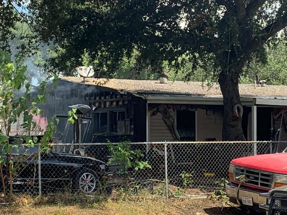 Investigators are looking at the possibility that arson could have been the cause of a house fire that broke out on the South Side. Photo: Taylor Pettaway