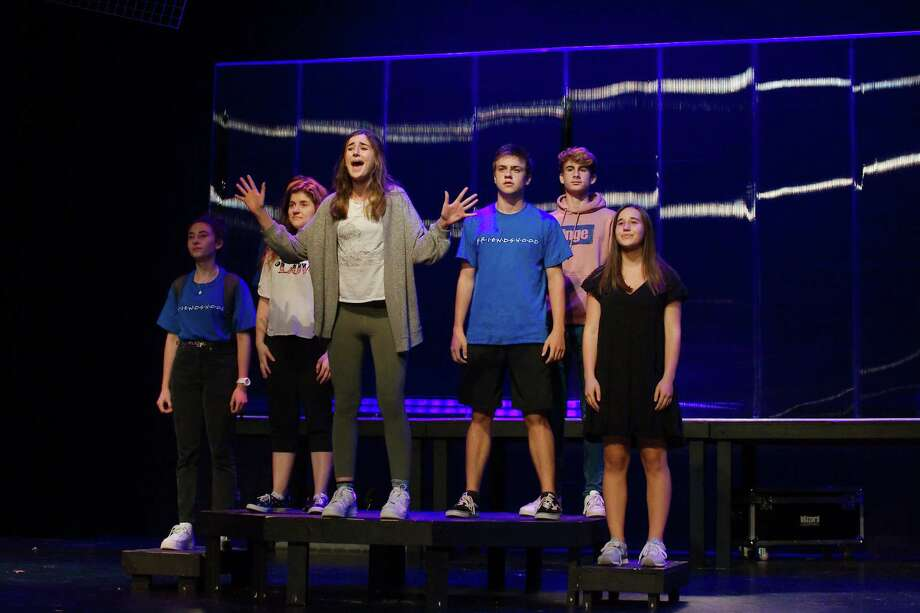 """Friendswood High School's """"White Noise"""" will be performed at the Texas Thespians State Festival to be held Nov. 21-23 in Grapevine. Photo: Kirk Sides / Staff Photographer / © 2019 Kirk Sides / Houston Chronicle"""