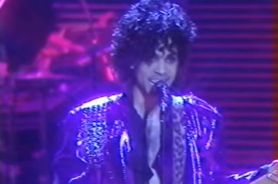 Prince performs at The Summit in 1982. Photo: Video Grab