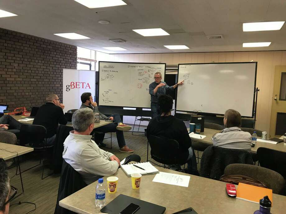 The gener8tor startup assistance organization brought its gBeta accelerator program to downtown Houston, financed by an up to $1.25 million economic development grant from the Downtown Redevelopment Authority. Photo: From Gener8tor's Facebook Page