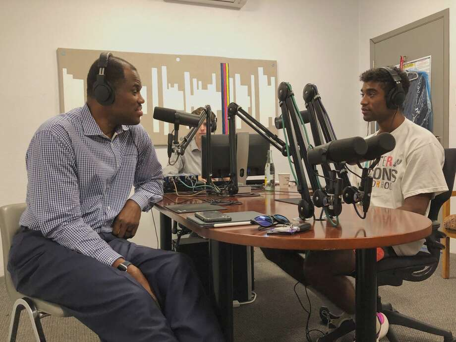 Spurs legend David Robinson and his son, David Robinson are launching a podcast to discuss foundational rules to live by. Photo: Courtesy