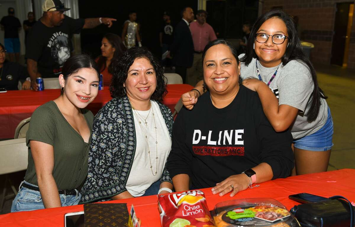 Boxing fans show their support during the Toff Texan 2019 Texas Outlaw Fight Fest 2 sanctioned amateur boxing matches on Saturday, Sep. 7, 2019, at the L.I.F.E. grounds Pavilion.