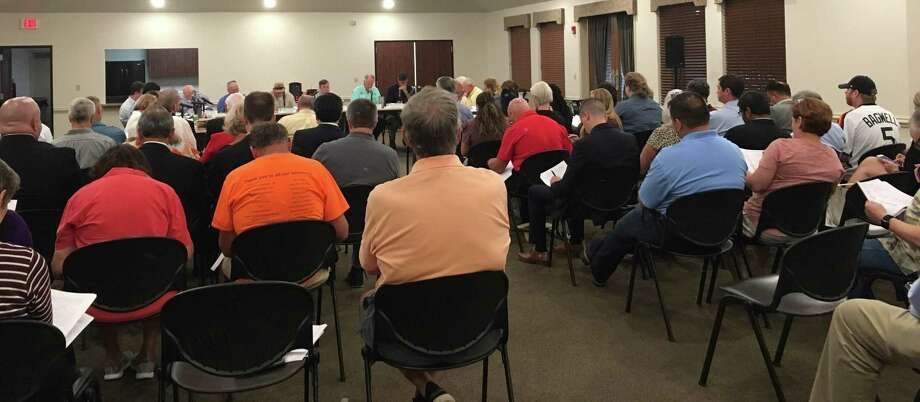The West Harris County Regional Water Authority board of directors talked of a possible water rate increase of 25 cents per 1,000 gallons for 2020 at their Sept. 11 meeting. Photo: Karen Zurawski / Karen Zurawski