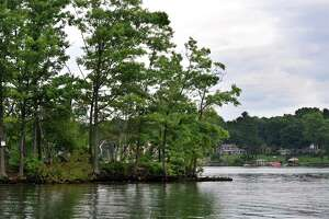 Sand Island in New Fairfiled is one of about 20 islands on Candlewood Lake.