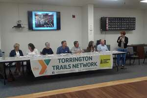 The Torrington Trails Network hosted an informational meeting Wednesday at the Sullivan Senior Center, detailing their accomplishments and asking for more involvement from the community.