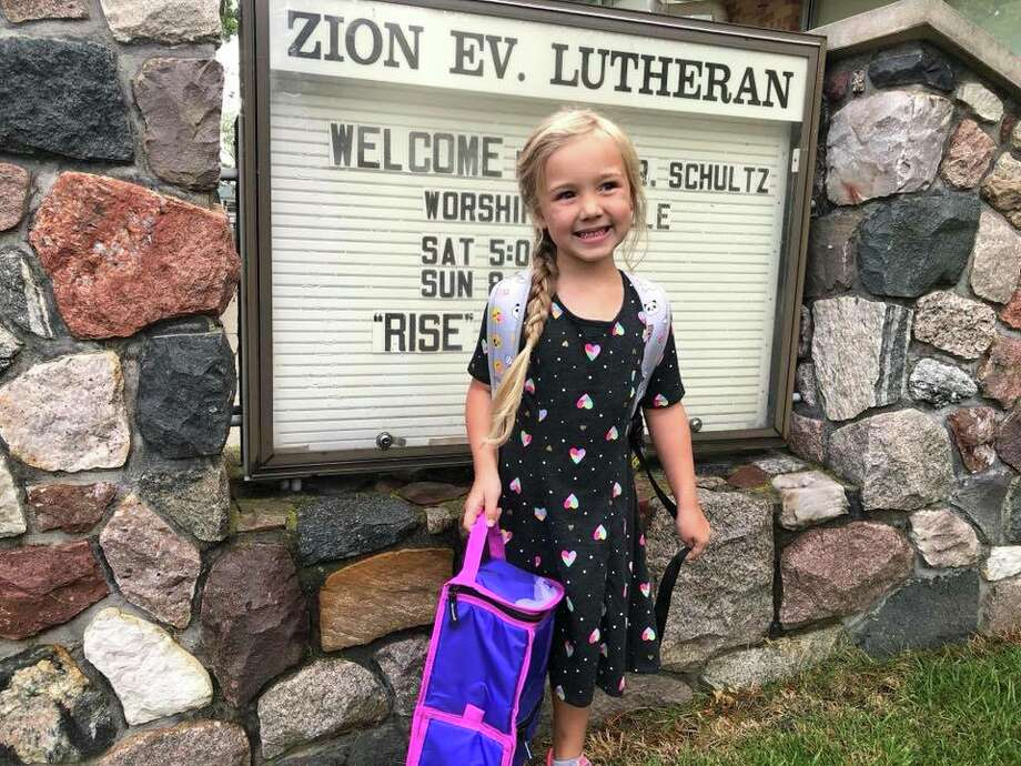 Emma Ney, Kindergarten - Zion Lutheran, Harbor Beach Photo: Submitted Photo