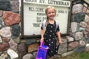 Emma Ney, Kindergarten - Zion Lutheran, Harbor Beach