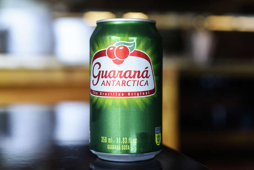 A can of Brazilian soda at the Brazilian Steakhouse on Central Ave. on Thursday, Sept. 5, 2019, in Colonie, N.Y. (Paul Buckowski/Times Union)