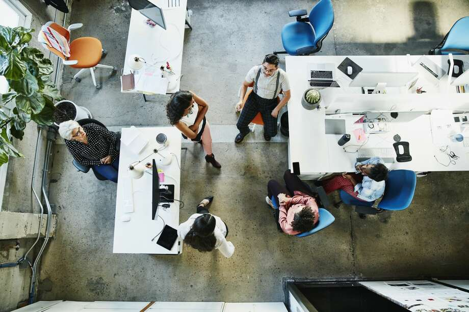 Tech offices come with plenty of perks, but that freedom often comes with responsibility. Photo: Thomas Barwick/Getty Images