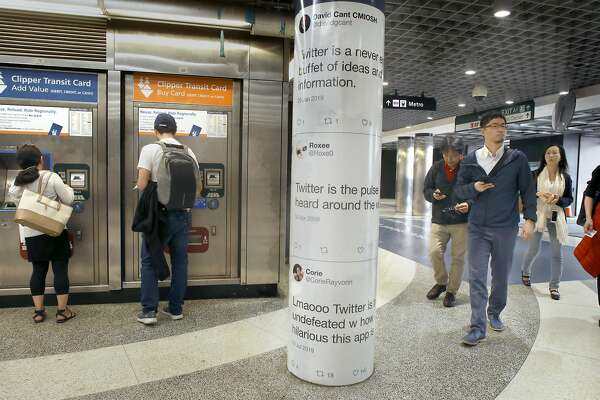 Twitter breaks law to put tweets on San Francisco streets