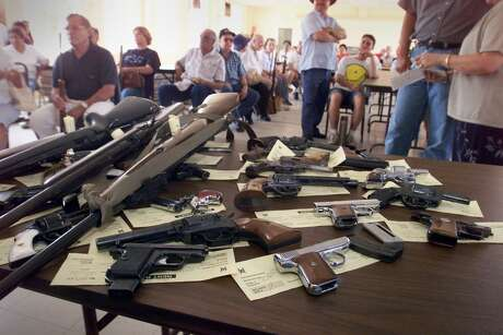 Way back in 2000, San Antonio officials sponsored a gun buyback program. Is it time to renew the practice?