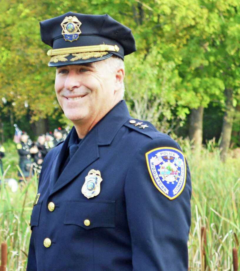 The Middletown Common Council approved a request from Police Chief William McKenna Monday night which would allow the city to waive his residency requirement. McKenna is moving his family to Old Saybrook to care for his ailing mother. Photo: Hearst Connecticut Media File Photo