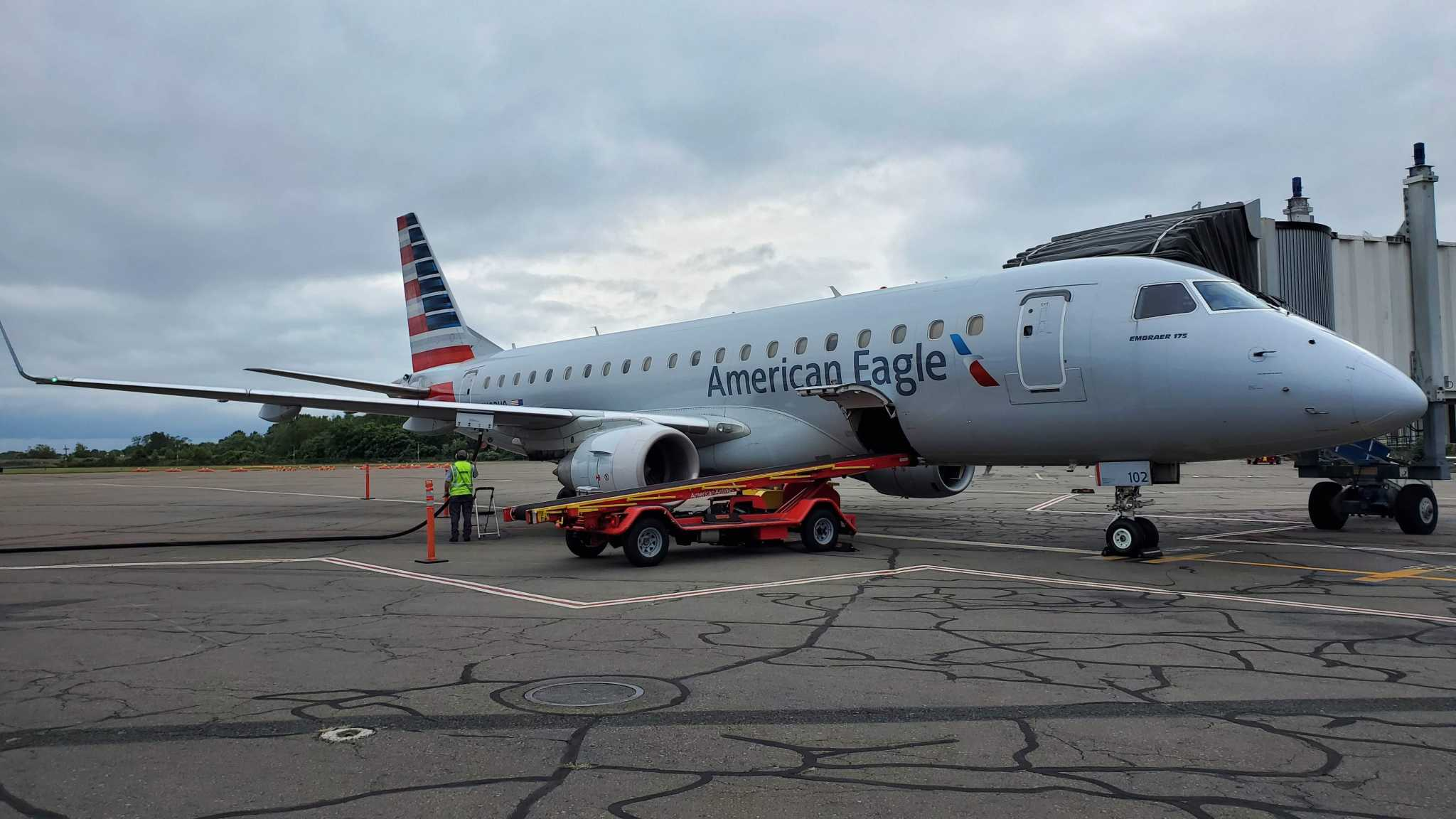 American upgrades aircraft for Tweed flights as airport awaits possible runway ruling appeal