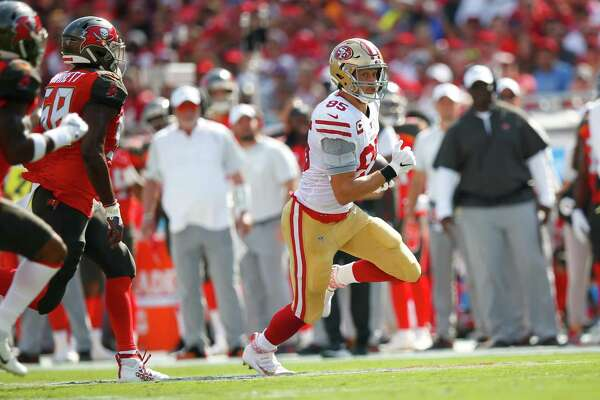49ers To Give Tight End George Kittle A Rest Easier Said