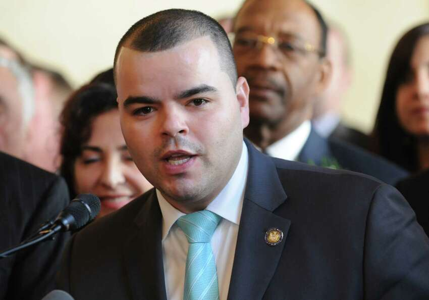 New York State Assemblyman Marcos A. Crespo on Tuesday, March 18, 2014 in Albany, N.Y. (Lori Van Buren / Times Union)