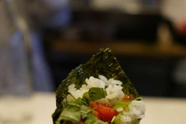 By Tae is turning heads with their hand-rolls as one of Bon Appetit's nominees for best new restaurant of 2019.