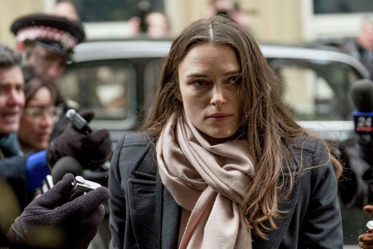 This image released by IFC Films shows Keira Knightley as Katharine Gun in