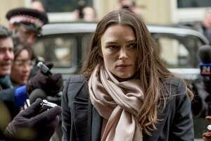 """This image released by IFC Films shows Keira Knightley as Katharine Gun in """"Official Secrets"""", directed by Gavin Hood. (Nick Wall/IFC Films via AP)"""