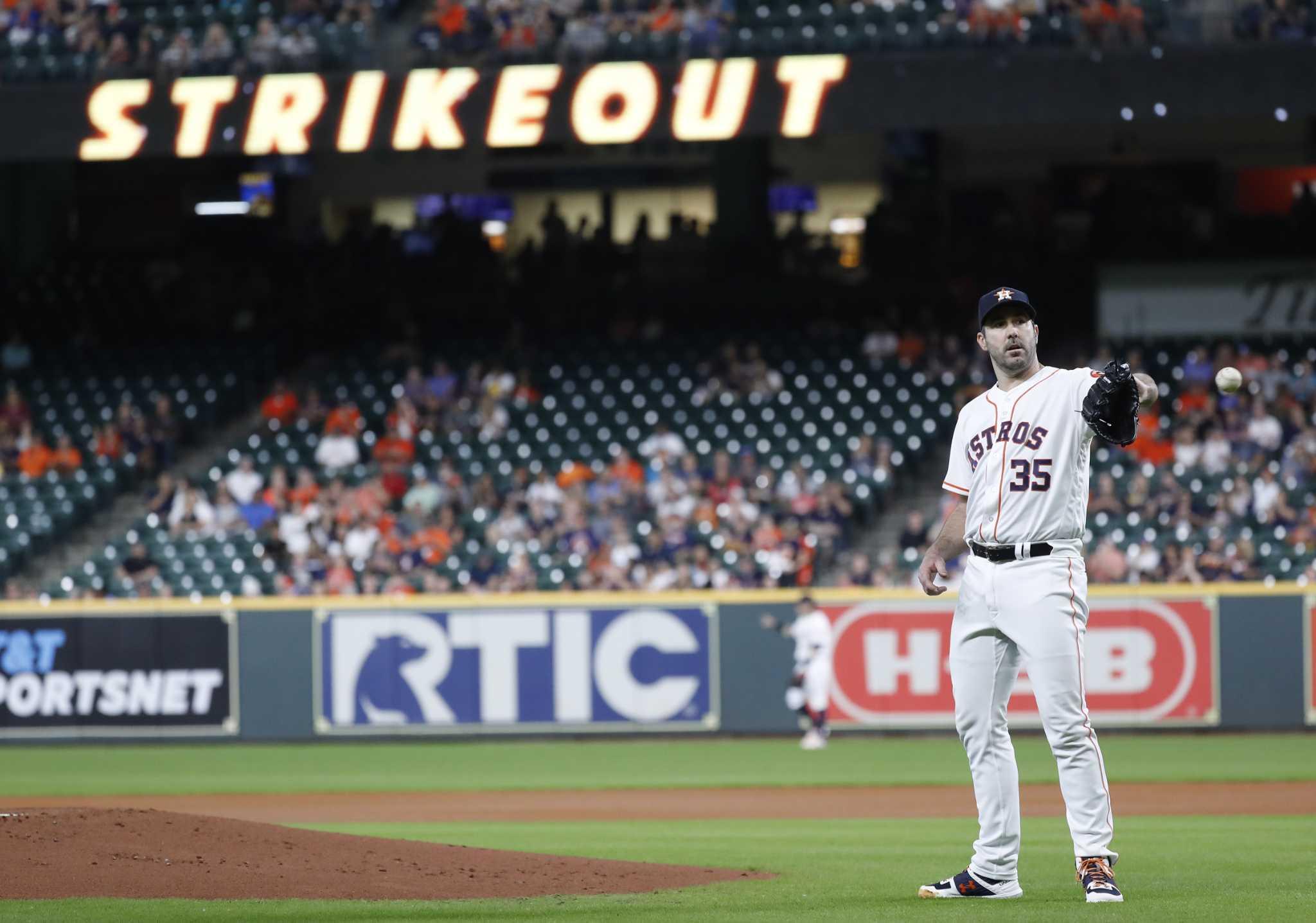 Astros' Justin Verlander joins 3,000-strikeout club