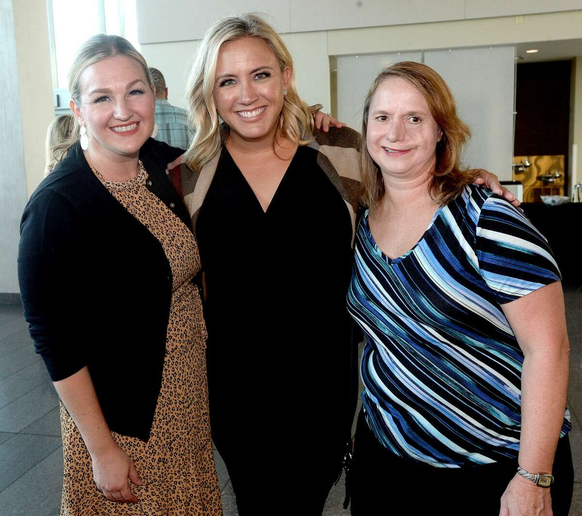 Guests gather at Samaritan Counseling Center of Southeast Texas' 3rd annual Not So Newlywed Game fundraising event Thursday at the Event Centre. The evening included dinner and drinks while watching