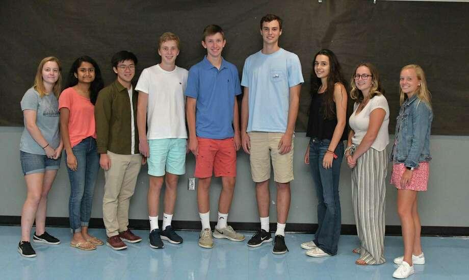 Nine Darien students have been named Merit Scholar semi-finalists. Photo: Darien High School