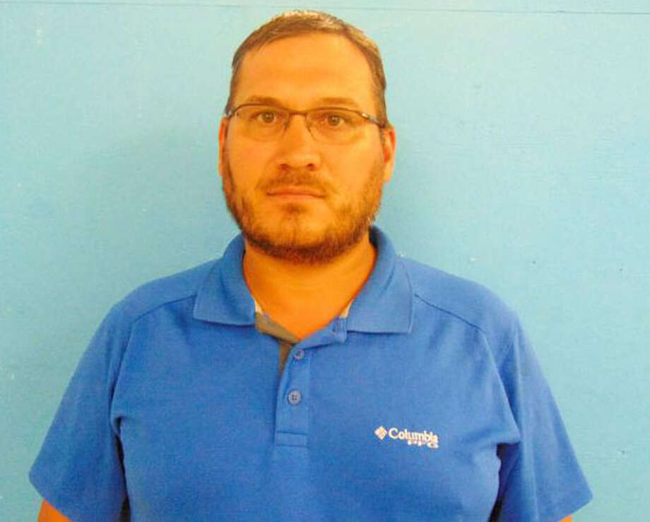 Josh Balk, the husband of Guadalupe County District Clerk Linda Balk, turned himself in on Sept. 12, a week after he was indicted by a Guadalupe County formisappropriation of fiduciary or financial property between $150,000 and $300,000 and theft of property between $150,000 and $300,000, which are both second-degree felonies. Photo: Guadalupe County Sheriff's Office