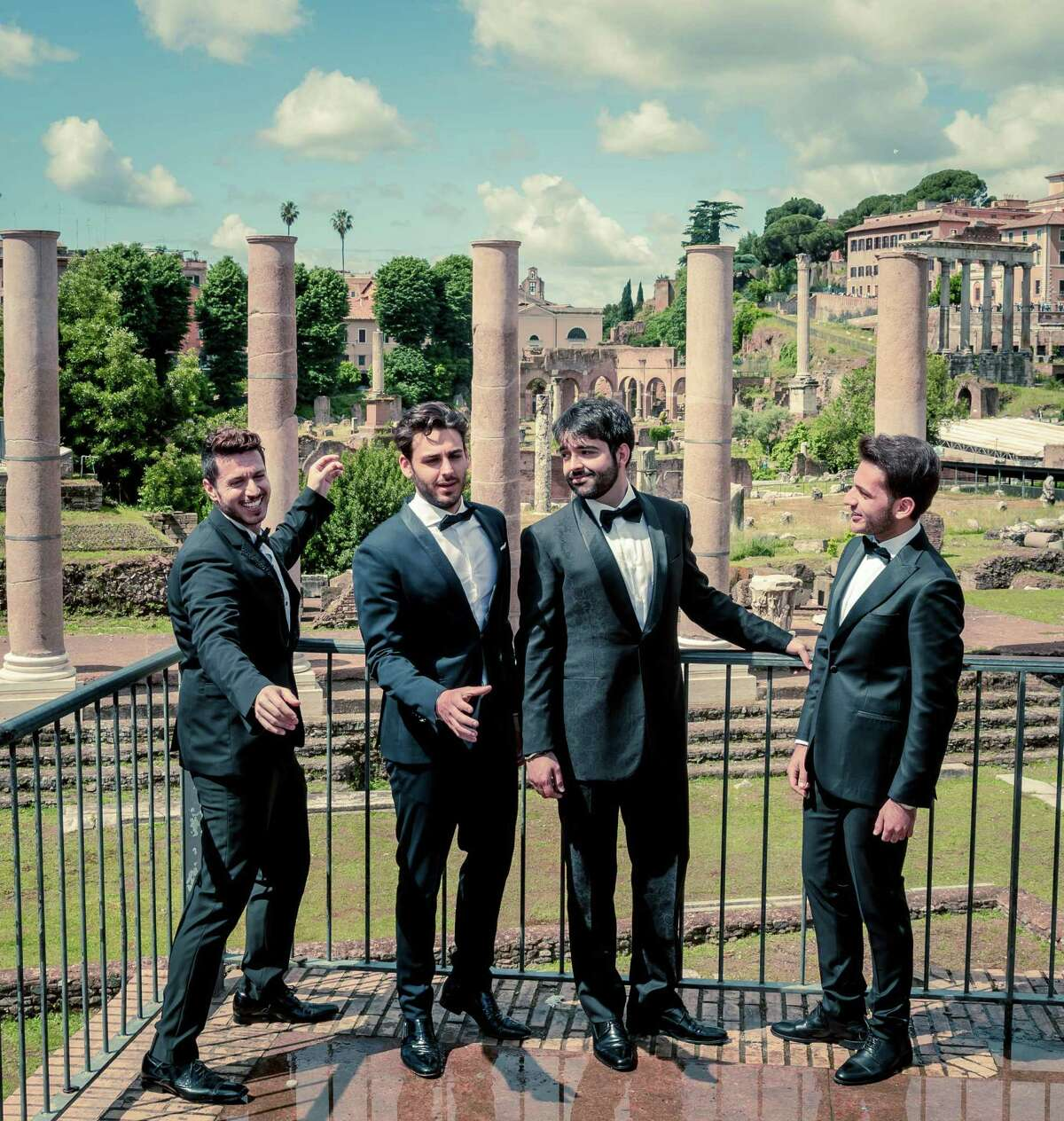 The Four Italian Tenors will play the Shubert in New Haven.