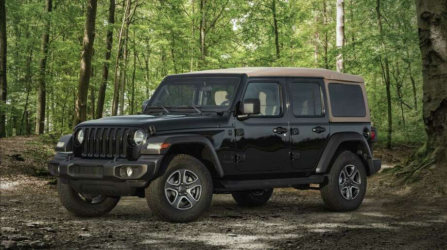 Shown is the new 2020 Jeep Wrangler Black & Tan edition. Photo: Hand-out / FCA US LLC / FCA US LLC