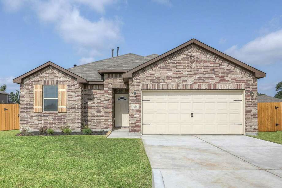 First America Homes is currently preselling in Towne Park, a new-home community in northeast Houston. Shown is the 1,619-square-foot Adams floor plan.