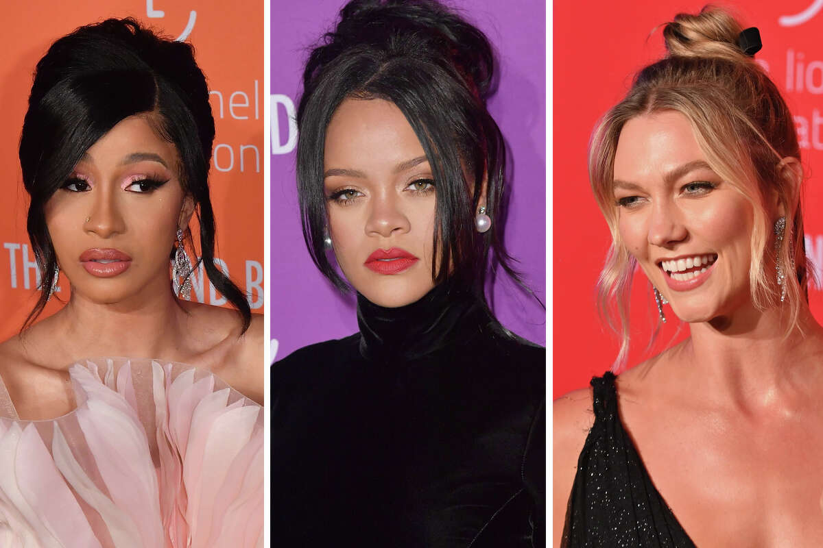 >>> Some of the hottest stars shined on the red carpet Thursday night at Rihanna's Diamond Ball ...