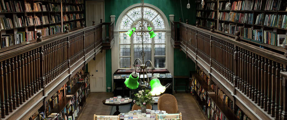 The interior of Daunt Books Marylebone. Photo: Carly Adlington/Daunt Books / Carly Adlington/Daunt Books