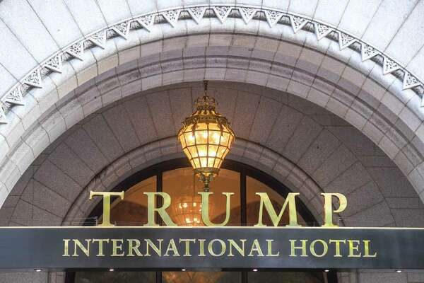 The Trump International Hotel in the District of Columbia.