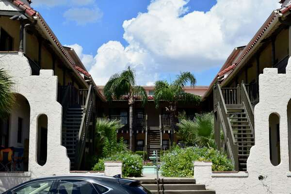 Courtyard apartments are typically one- or two-story buildings surrounding an outdoor open space or garden on three or four sides.